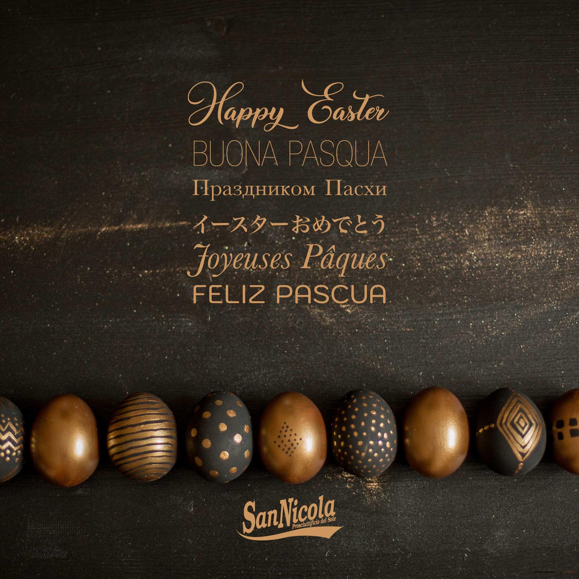 Buona Pasqua dal Prosciuttificio San Nicola