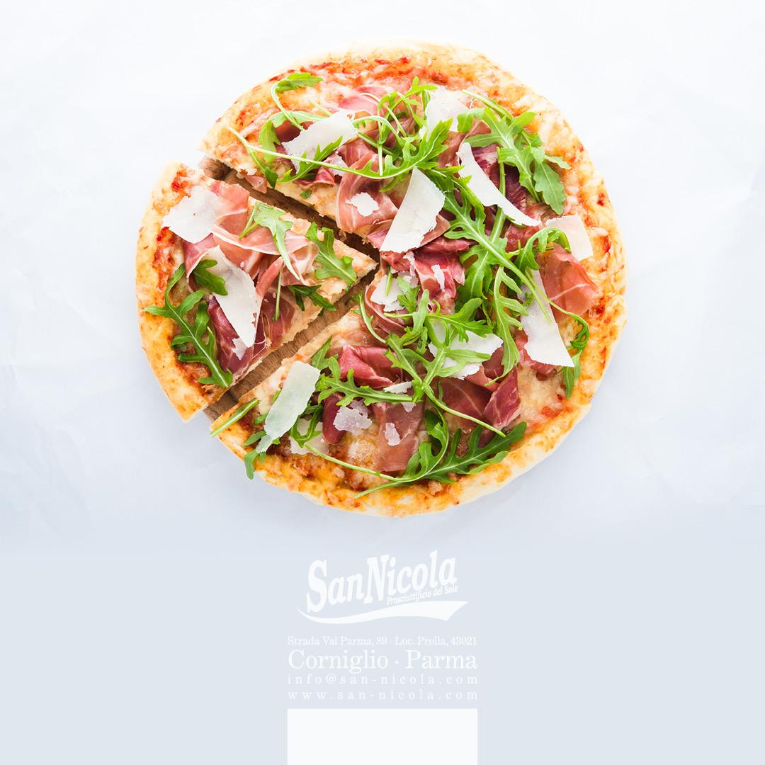 Semplicemente Prosciutto San Nicola sulla pizza!!