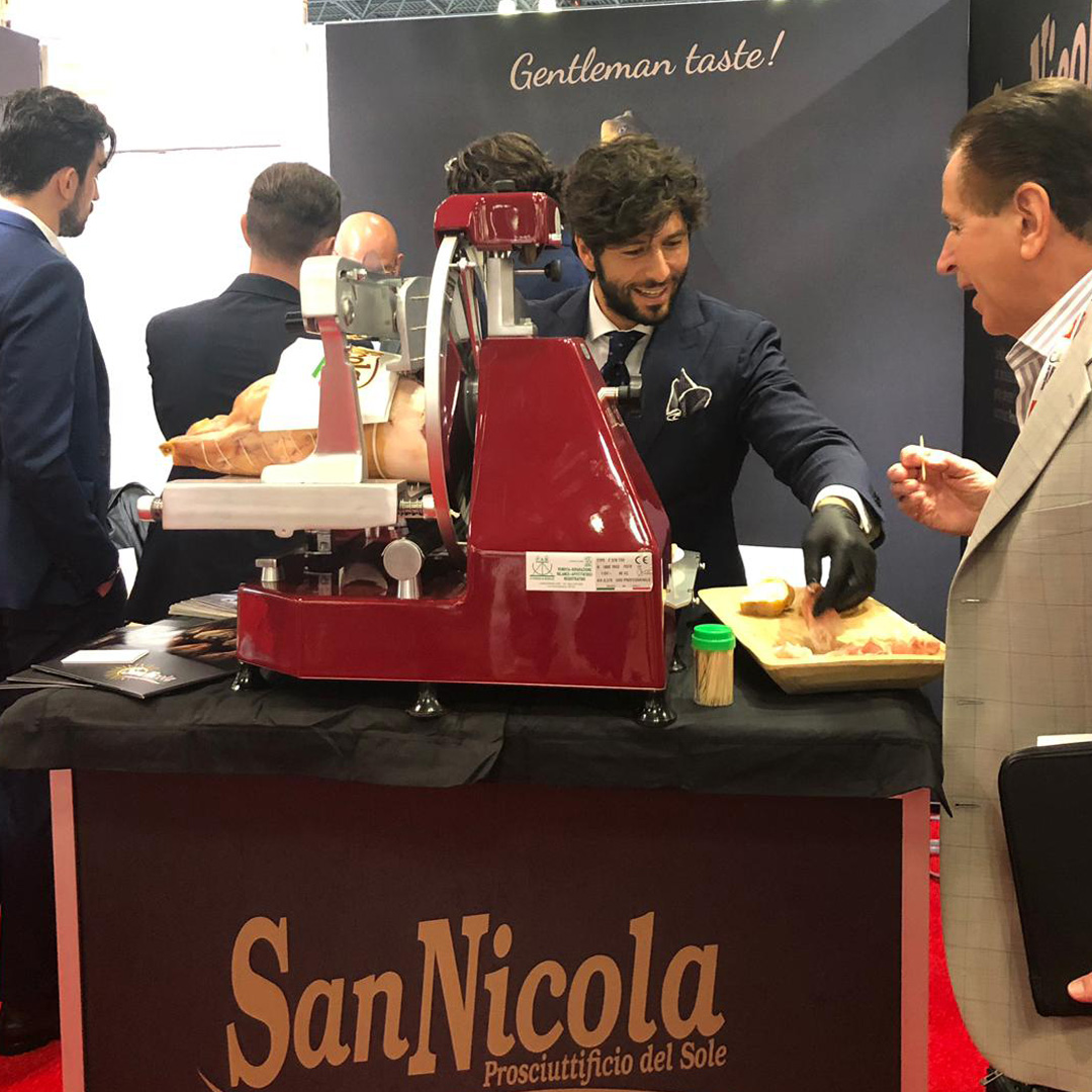PROSCIUTTO SAN NICOLA POST fiera Fancy Food 2019