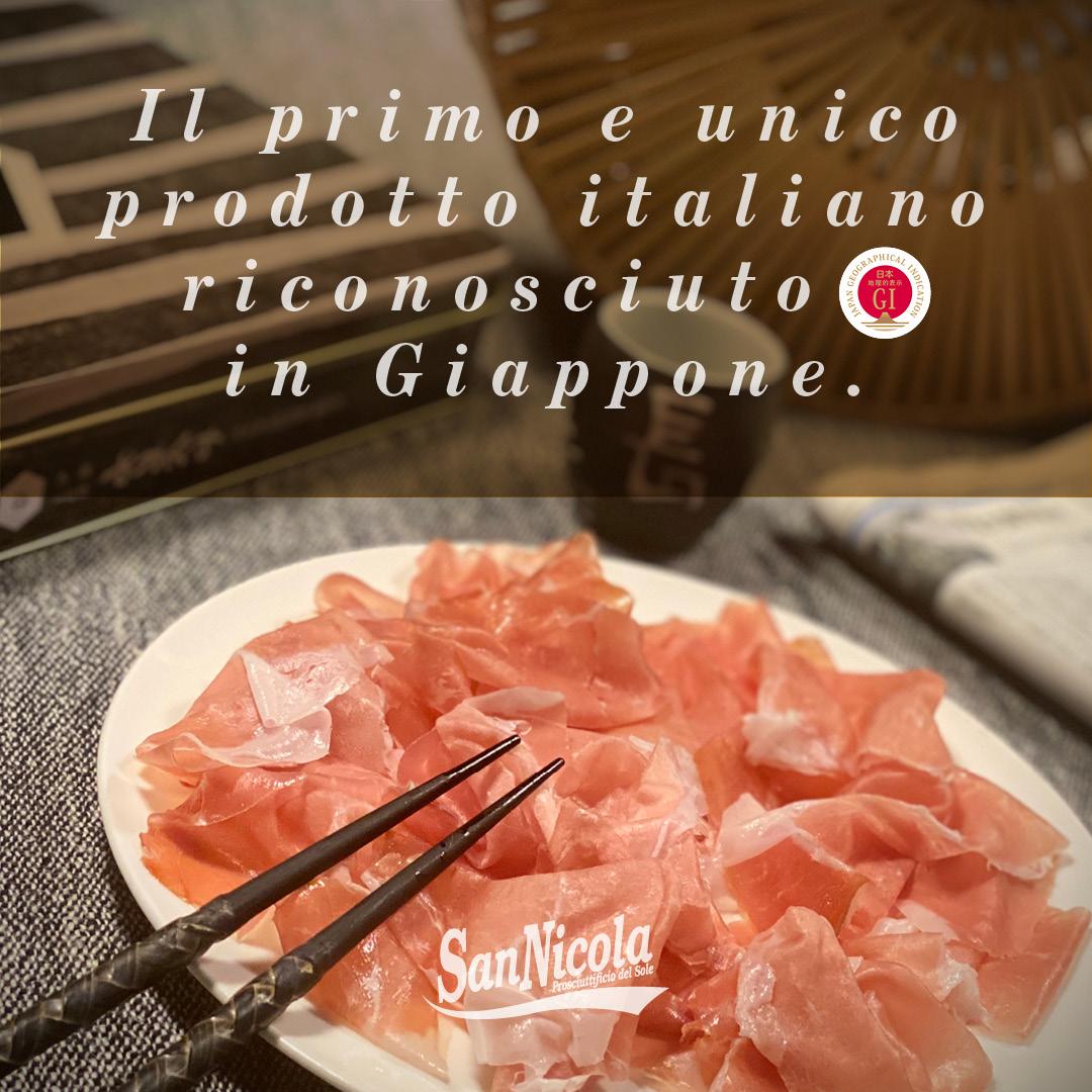 Il Prosciutto di Parma e l'Indicazione Geografica JAPN GEOGRAPHICAL INDICATION.