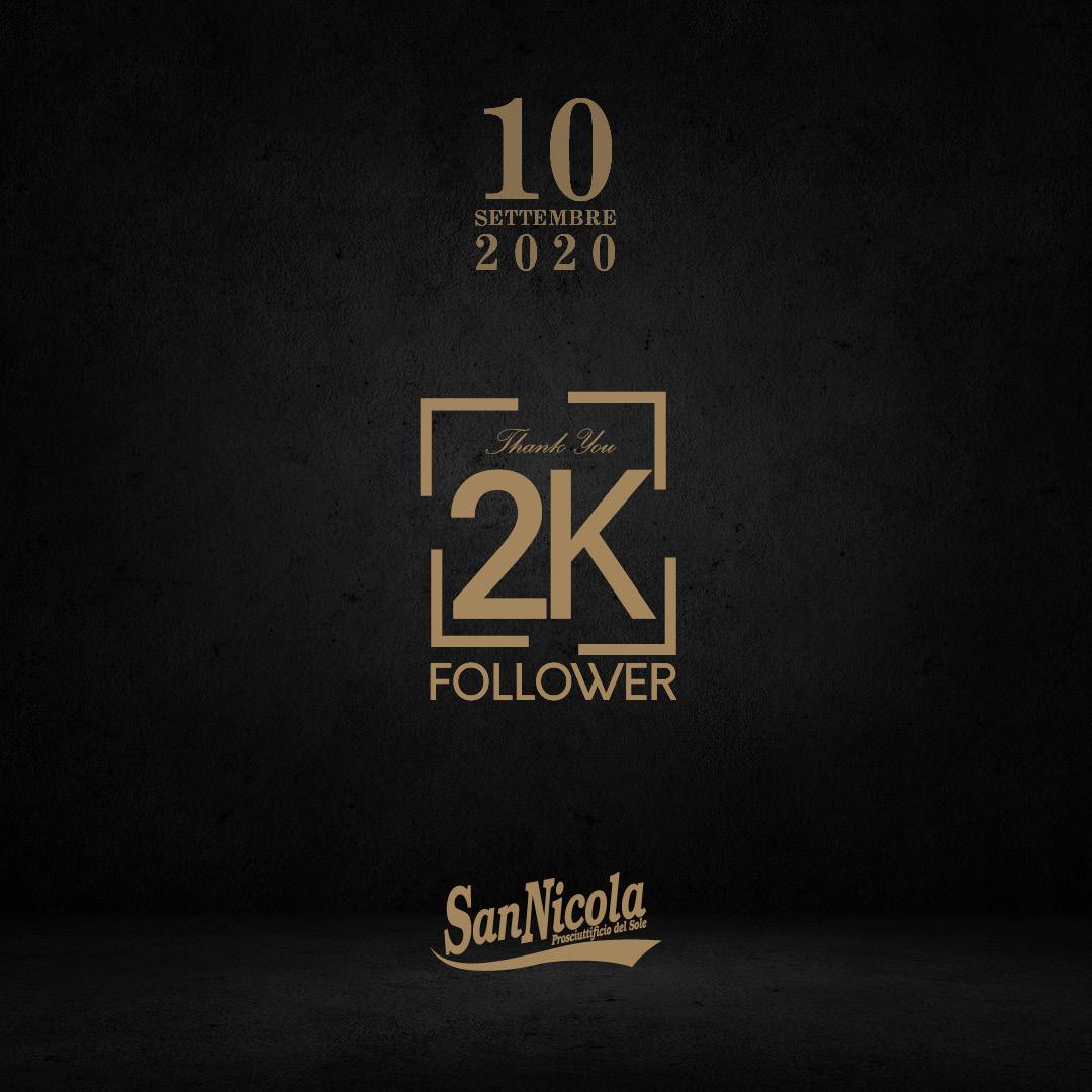 festeggiamo insieme i 2000 Followers raggiunti!!