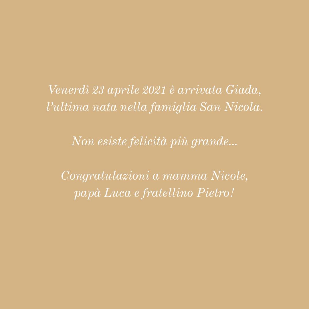 POST San Nicola Nascita Giada 3